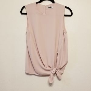 Babaton (Aritzia) Hopkins self-tie blouse